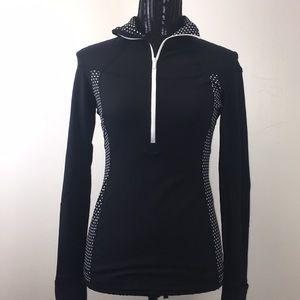 Lululemon Wet Dry Warm Half Zip Jacket.